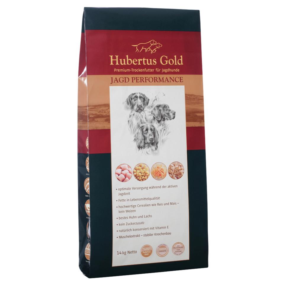 HUBERTUS GOLD Hundefutter Jagd Performance Trockenvollkost 14 kg